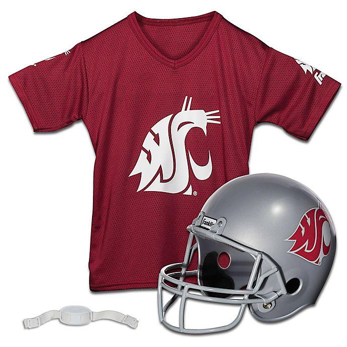 Alternate image 1 for Washington State University Kids Helmet/Jersey Set