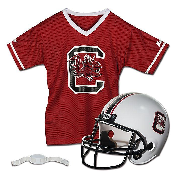 Alternate image 1 for University of South Carolina Kids Helmet/Jersey Set