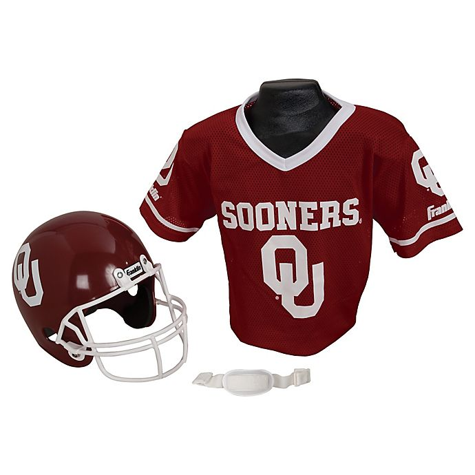 premium selection 845a5 a2ace University of Oklahoma Kids Helmet/Jersey Set | Bed Bath ...