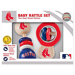 MLB Boston Red Sox Rattles (Set of 2)