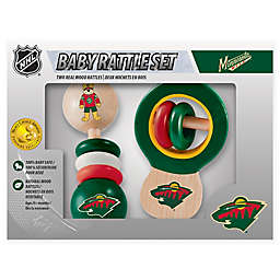 NHL Minnesota Wild Rattles (Set of 2)