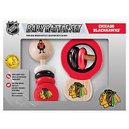 NHL Chicago Blackhawks Rattles (Set of 2)