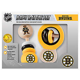 NHL Boston Bruins Rattles (Set of 2)