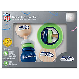 NFL Seattle Seahawks Baby Rattles (Set of 2)