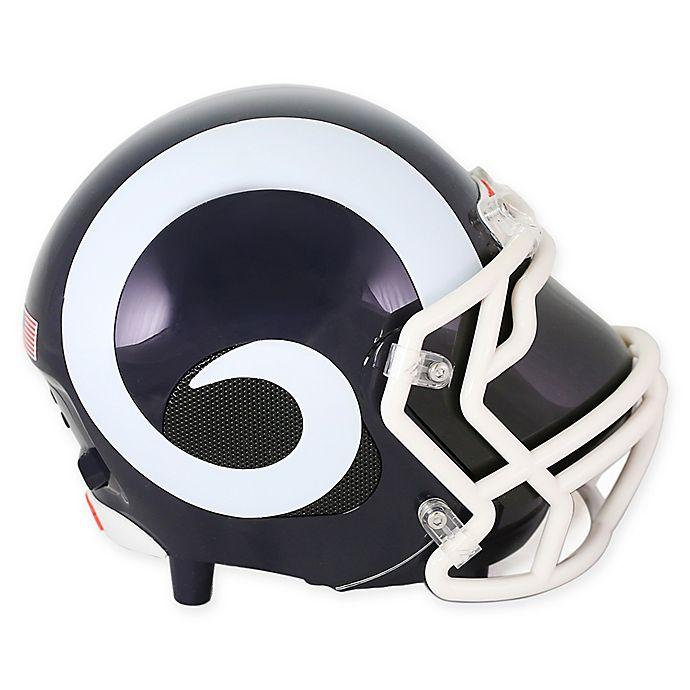 Nfl Los Angeles Rams Bluetooth 174 Helmet Speaker Bed Bath