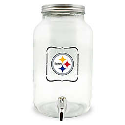 NFL Pittsburgh Steelers 5-Liter Glass Drink Dispenser