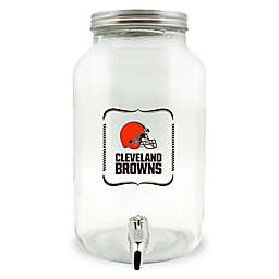 NFL Cleveland Browns 5-Liter Glass Drink Dispenser