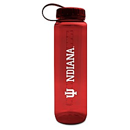 Indiana University 36 oz. Clear Plastic Water Bottle