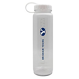 Brigham Young University 36 oz. Clear Plastic Water Bottle