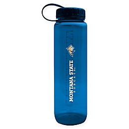 Montana State University 36 oz. Clear Plastic Water Bottle