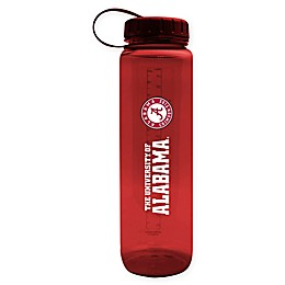 University of Alabama 36 oz. Clear Plastic Water Bottle