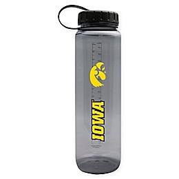 University of Iowa 36 oz. Clear Plastic Water Bottle