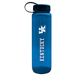 University of Kentucky 36 oz. Clear Plastic Water Bottle