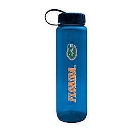 University of Florida 36 oz. Clear Plastic Water Bottle