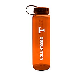 University of Tennessee 36 oz. Clear Plastic Water Bottle