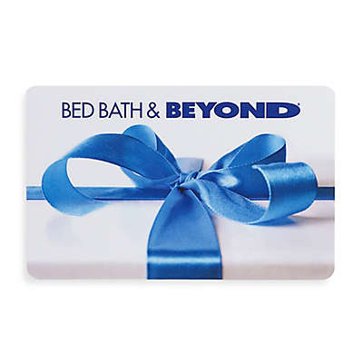 Gift With Blue Bow Gift Card