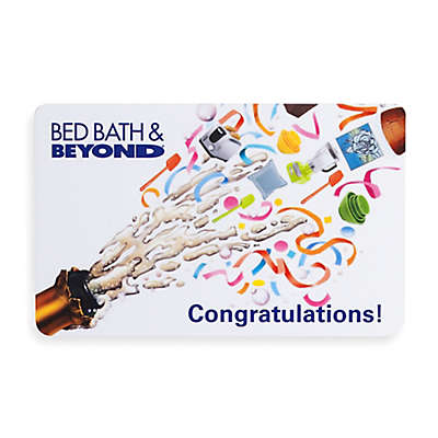 """""""Congratulations!"""" Champagne Gift Card"""