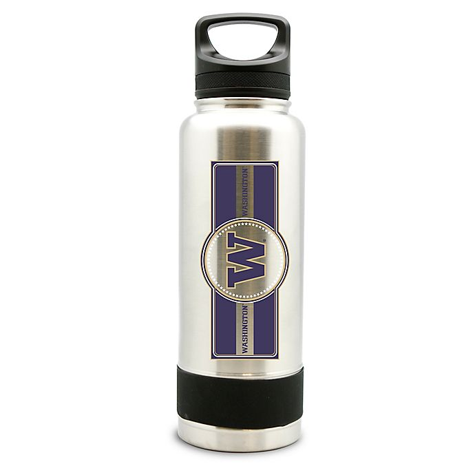Alternate image 1 for University of Washington 40 oz. Thermo Double-Wall Stainless Steel Water Bottle