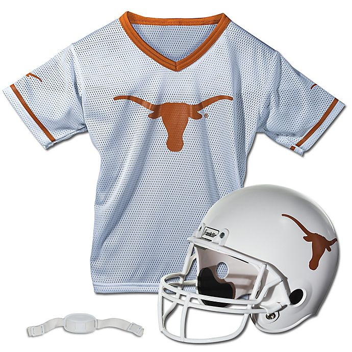 Alternate image 1 for University of Texas at Austin Size Small Youth Deluxe Uniform Set