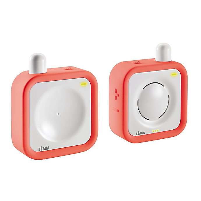 Alternate image 1 for BEABA® Minicall Audio Baby Monitor in Coral