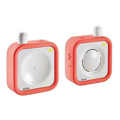 BEABA® Minicall Audio Baby Monitor in Coral