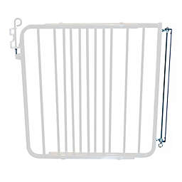 Cardinal Gates Aluminum Auto-Lock Gate in White