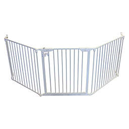 Cardinal Gates Steel XpandaGate in White