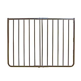 Cardinal Gates Outdoor Safety Gate in Brown