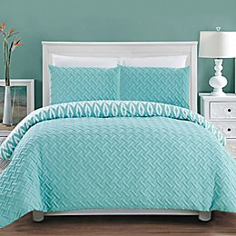 Chic Home Maritoni 7-Piece Reversible Comforter Set