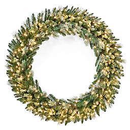 National Tree Company Pre-Lit Carolina Pine Wreath