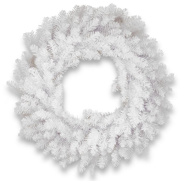 Alternate image 1 for National Tree Company 30-Inch Dunhill Fir Wreath in White