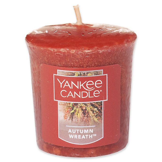 Alternate image 1 for Yankee Candle® Housewarmer® Autumn Wreath™ Votive Candle