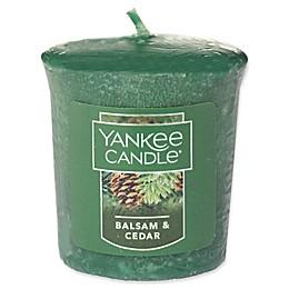 Yankee Candle® Housewarmer® Balsam and Cedar™ Votive Candle