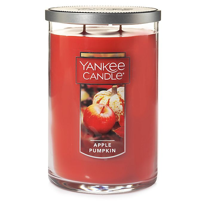 Alternate image 1 for Yankee Candle® Housewarmer® Apple Pumpkin Large 2-Wick Tumbler Candle