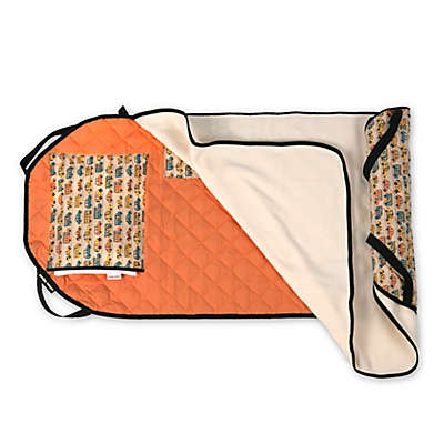 Urban Infant Traffic Tot Cot Toddler Nap Mat in Orange