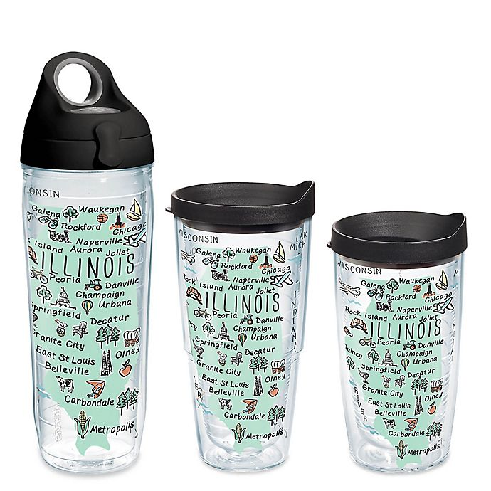 Alternate image 1 for Tervis® My Place Illinois Wrap Tumbler with Lid
