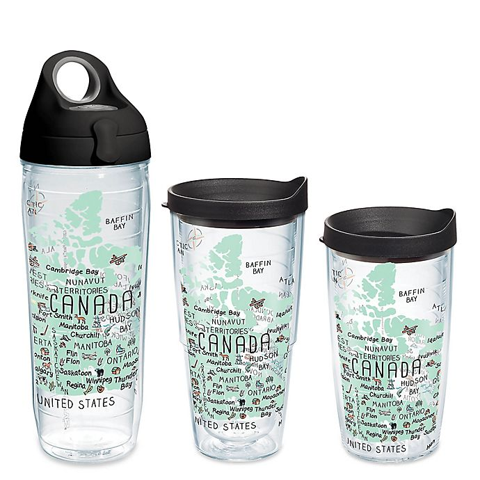 Alternate image 1 for Tervis® My Place Canada Wrap Tumbler with Lid