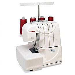 Janome 3/4 Thread Serger with Differential Feed in White