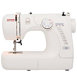 Janome Mod-128 Basic Sewing Machine in White