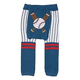Doodle Pants® Baseball Leggings in Navy
