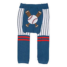 Doodle Pants® Baseball Leggings in Navy