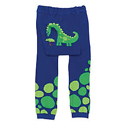 Doodle Pants® Small Hungry Dino Leggings in Cobalt