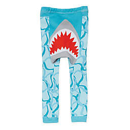 Doodle Pants® Shark Leggings in Blue