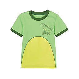 Doodle Pants® Dino on a Bike T-Shirt in Green
