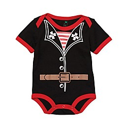 Doodle Pants® Pirate Bodysuit in Black