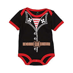 Doodle Pants® Pirate Bodysuit in Black