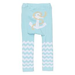 Doodle Pants® Anchor Leggings in Blue
