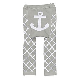 Doodle Pants® Anchor Leggings in Grey