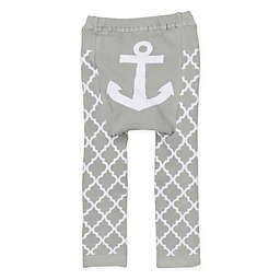 Doodle Pants® Anchor Leggings in Grey