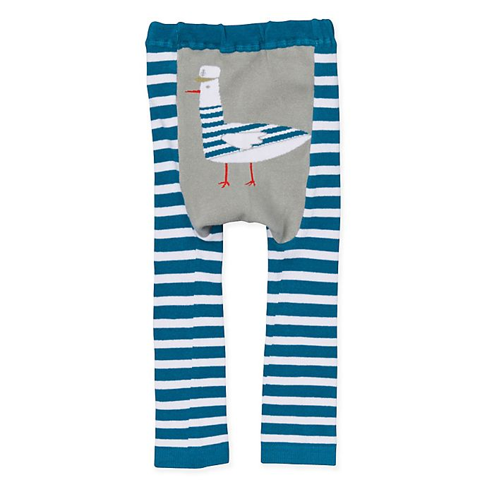 Alternate image 1 for Doodle Pants® Captain Feathers Leggings in Teal